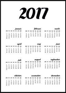 design din egen kalender