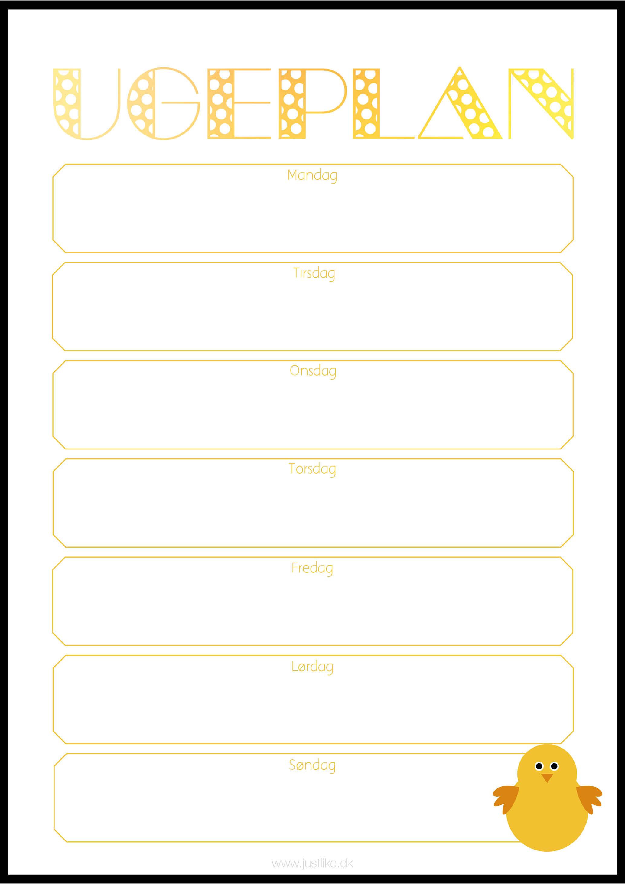 familiekalender 2017 print selv